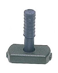 Articulation élastomère pour stick Ø13mm
