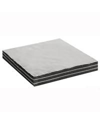 Plaque anti-bruit avec tissu en fibre de verre 35 mm ep. 100 x 150 cm