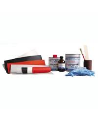 Kit réparation canot pneumatique néoprène - noir