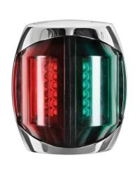 Feu de navigation LED Sphera2 bicolore 225° - 20 M boitier inox poli