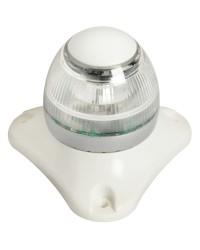 Feu de navigation LED Sphera2 blanc 360° - 50 M boitier blanc
