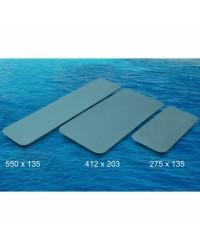 Revêtement TREADMASTER auto adhésif 412x203mm - bleu X 2 pièces