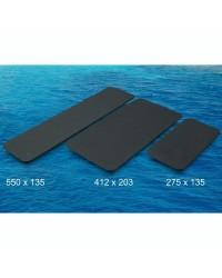 Revêtement TREADMASTER auto adhésif 412x203mm - noir X 2 pièces