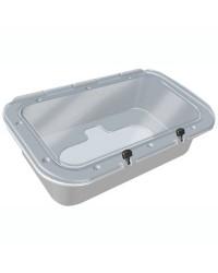 Container étanche pour gonfleur avec couvercle transparent Turbo Max