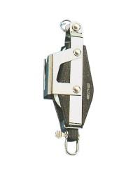 Poulie double PLASTINOX à violon tête universelle avec coinceur et ringot pour corde 8xØ34mm