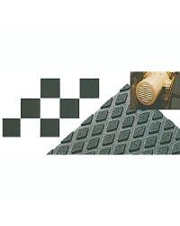 Revêtement antidérapant conçu pour le sol du compartiment moteur - 120x90x0,3cm - noir