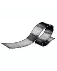 Profilé quille 90 x 2 mm gris - bobine de 24 M