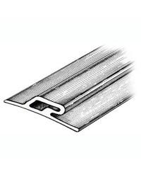 Profilé latéral pare-embruns 3.5 x 60 x16mm - noir