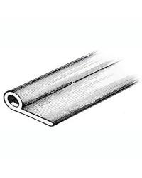 Profilé pour annexe 2 x 36 x 12 mm - noir - bobine de 24 M