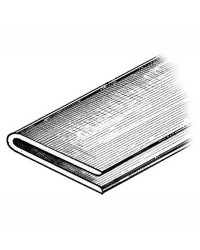 Profilé pour annexe 2 x 2 x 40mm - gris - bobine de 24 M