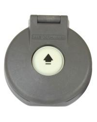 Interrupteur pour winch électrique Ø80mm - gris
