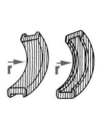 Angle convexe teck