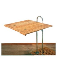 Plan de table teck 70 x 64 cm