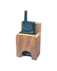 Support VHF en teck 132x 73x43 mm