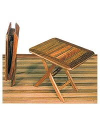 Table teck 50x40cm