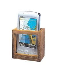 Porte GPS en teck