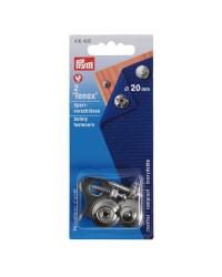 Boutons Tenax et boutons mâle + outil à visser