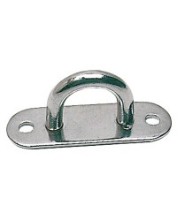 Pontet platine inox - 45 x 15 mm - Ø 5 mm