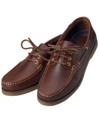 Chaussures Crew homme cuir marron 46