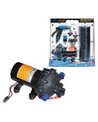 Kit de lavage haute pression - 12 V - avec tuyau