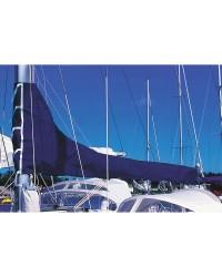Housse de grand voile - Bleu royal - Longueur de bome 2,75 m