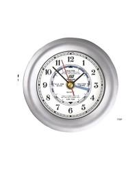 Horloge de marée 4 aiguilles 4'' - chromage mat