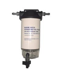 Filtre essence avec décanteur transparent - 200 l/h