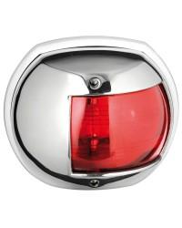 Feu Maxi20 inox rouge 24V