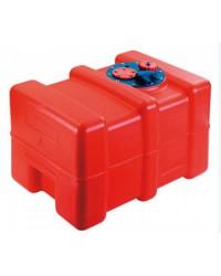 Réservoir carburant India - 42 litres - 500 x 330 x P 350 mm