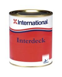 Peinture antidérapante INTERDECK Crème 027 0.75L