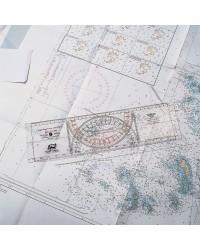 Règle Cras - graduations bicolores - 38 x10 cm