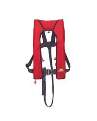 Gilet Quickfit 150 manuel, avec harnais - rouge