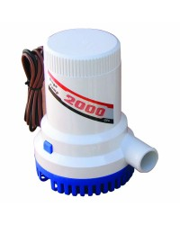 Pompe de cale centrifuge - 2000 - 7570 l/h - 12 V