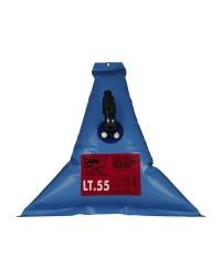 Réservoir d'eau douce souple elastomère - 56 litres - 82x83 cm