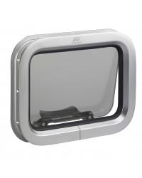 Hublot T 04 rectangulaire aluminium 649 x 193 mm