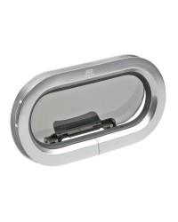 Hublot T 32 ovale aluminium 397 x 197 mm