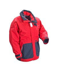 Veste Coastal rouge/noir XL