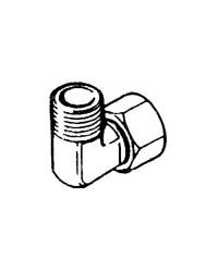 Raccord pivotant 90° pour pompes Ultraflex - 3/8'