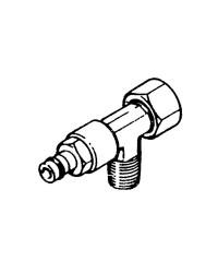 Raccord en T pour pompes Ultraflex - 3/8' (VFN38)