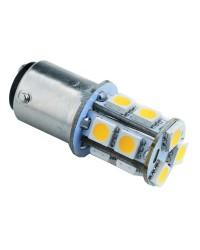 Ampoule LED - BA15D - 12/24 V - 156 lumens - Blister de 1