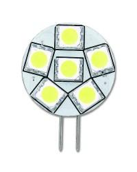 Ampoule LED - G4 latérale 23 mm - 9 - 32 V - 70 lumens - Blister de 1