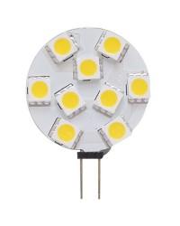 Ampoule LED - G4 latérale 28 mm - 9 - 32 V - 130 lumens - Blister de 1