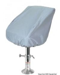 Couvre-siège biplace en tissu 53x90x89cm gris 300D