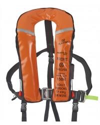 Gilet austral 180 automatique, masque, harnais, sous cutale, flashlight - orange