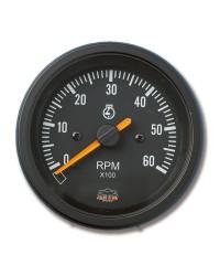 Afficheur compte-tours 0-6000 RPM- G Line - Ø 84 mm - noir -
