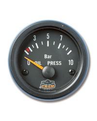 Afficheur pression d'huile avec capteur - G Line - Ø 52 mm - noir -