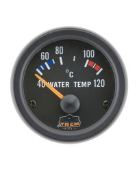 Afficheur température d'eau avec sonde - G Line - Ø 52 mm - noir