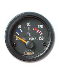 Afficheur température d'huile avec sonde - G Line - Ø 52 mm - noir