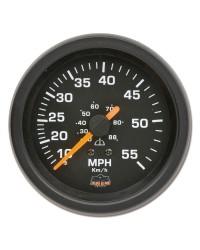 Afficheur speedomètre 10-55 MPH - G Line - Ø 84 mm - noir