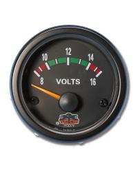 Afficheur voltmètre - G Line - Ø 52 mm - noir -